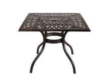 Столик кофейный Lotus Square Table (бронза)