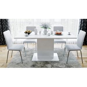 обеденный стол тип 1 Diamond диамонд подстольестолешница белый глянец